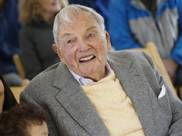 В США в возрасте 101 года умер миллиардер Дэвид Рокфеллер (ФОТО)