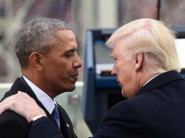 СМИ: Обама вернется в политику из-за Трампа