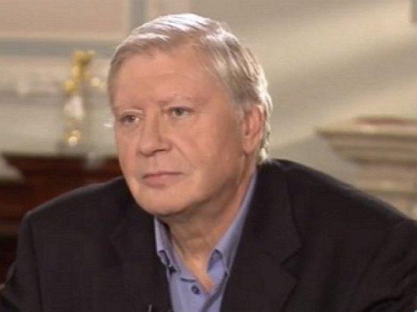 Умер известный журналист-международник Юрий Выборнов
