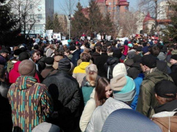 Митинг Навального 26 марта 2017 года: акции против коррупции идут по всей стране, есть задержанные (ФОТО, ВИДЕО)