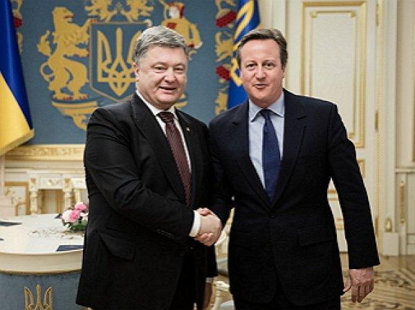Президент Порошенко провел встречу с Дэвидом Кэмероном