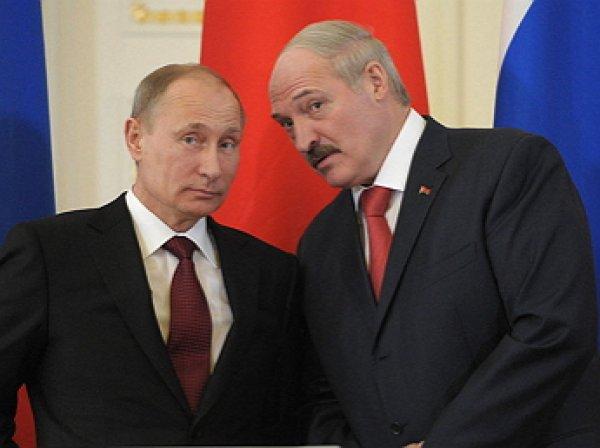 Лукашенко назвал Путина «родным братом»