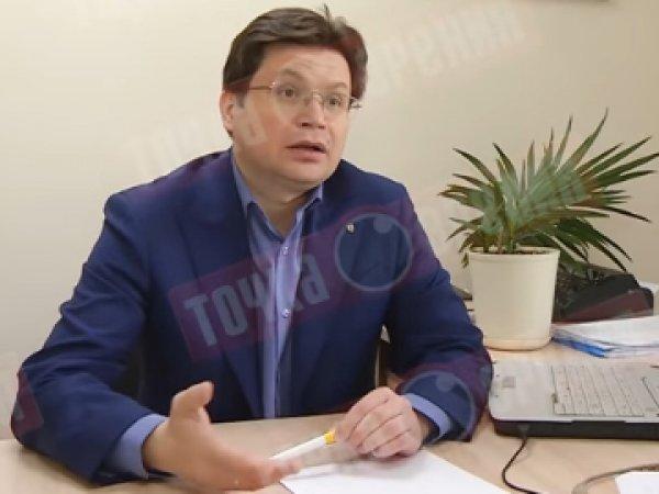 """YouTube ВИДЕО: комнатный цветок завял прямо во время интервью с политиком о """"достойных кандидатах"""""""