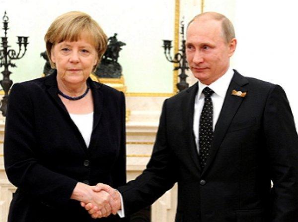В Кремле сообщили о согласовании даты визита Меркель