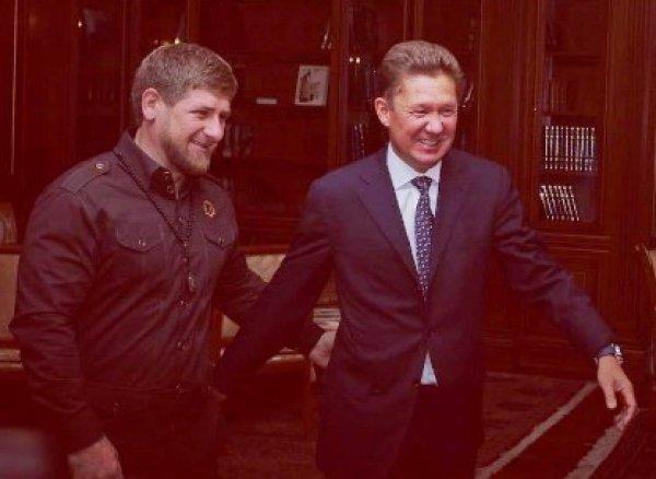 «Газпром» скрыл отчет о долгах Чечни после критики Кадырова (ВИДЕО)