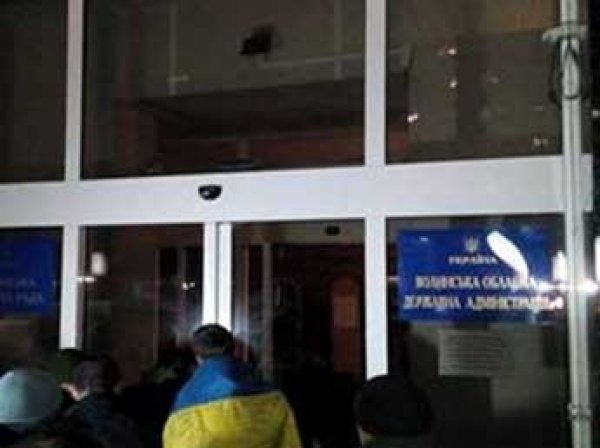 Новости Украины на 14 марта 2017: сторонники блокады захватили здание обладминистрации в Луцке(ВИДЕО)