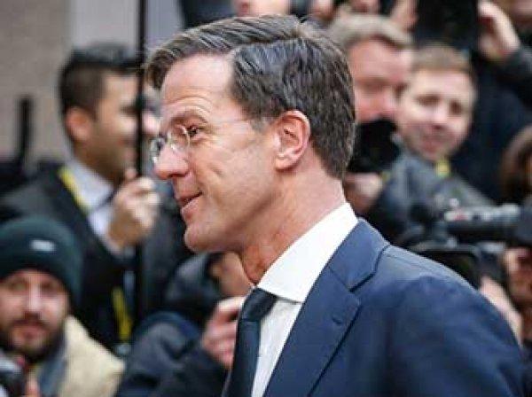 Премьер Нидерландов отказался извиняться перед Турцией за отказ пускать министров в страну