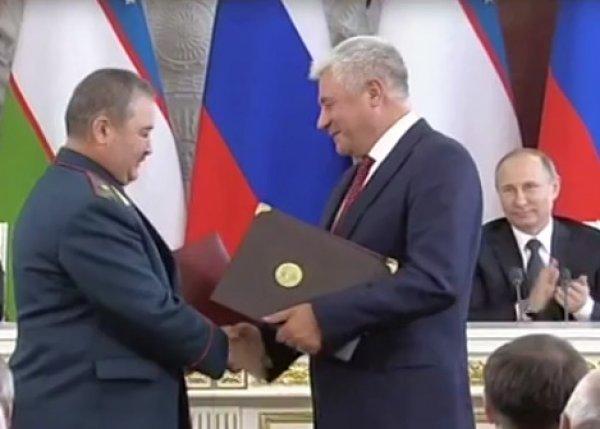 "YouTube ""взорвало"" ВИДЕО, как диктор Кремля рассмешил Путина, объявляя главу МВД"