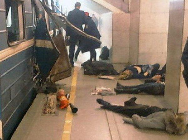 YouTube ВИДЕО первых секунд после теракта в метро Петербурга шокировало Сеть