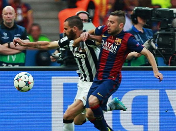 «Ювентус» разгромил «Барселону» в 1/4 финала Лиги чемпионов