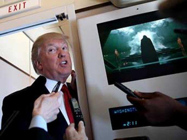 Трамп с Дартом Вейдером анонсировал аваиудары по Сирии (ФОТО)