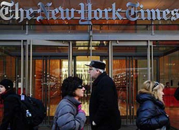 Газета New York Times получила Пулитцеровскую премию за материалы о Путине