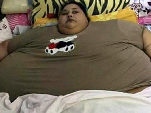 СМИ: самая тяжелая женщина в мире похудела на 242 кг