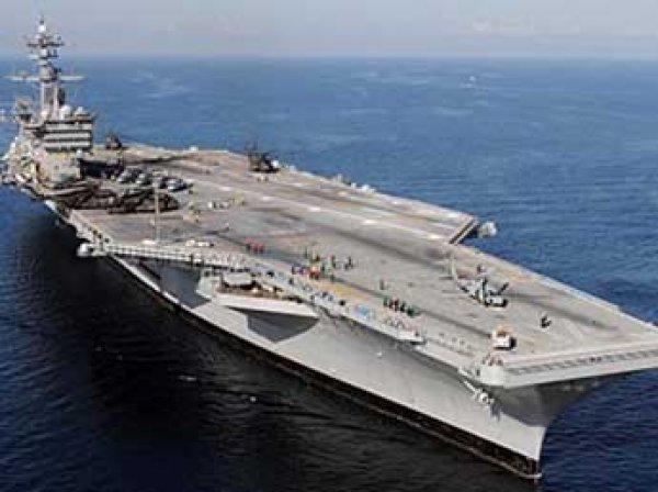 США внезапно направили авианосец к Южной Корее
