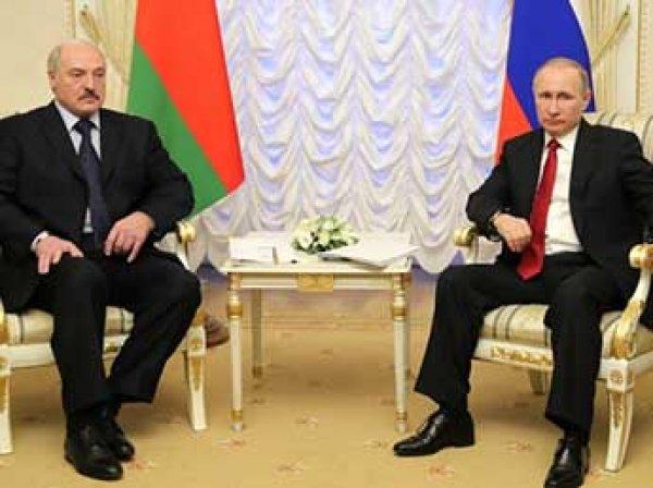 Путин договорился с Лукашенко о цене на газ