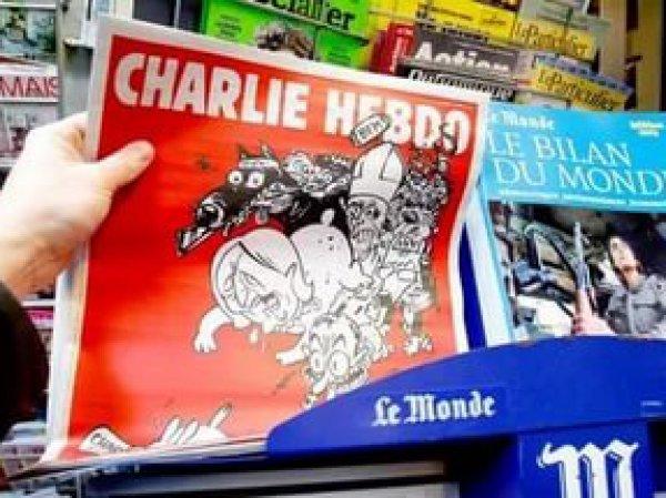Charlie Hebdo выпустил карикатуру с Асадом на тему химической атаки (ФОТО)