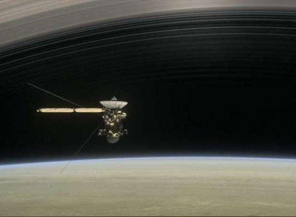 """""""Кассини"""" прислал фото Земли и Луны с орбиты Сатурна"""