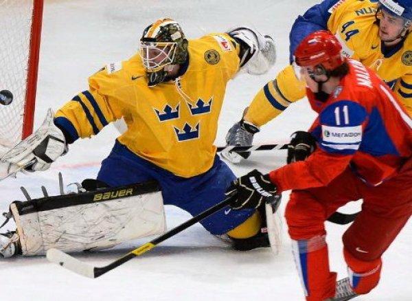Хоккей, Швеция – Россия: обзор матча от 05.05.2017, видео голов, счет, результат матча ЧМ 2017 (ВИДЕО)