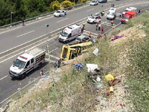Авария в Турции с автобусом сегодня 13.05.2017: в ДТП погибли 23 человека (ВИДЕО)