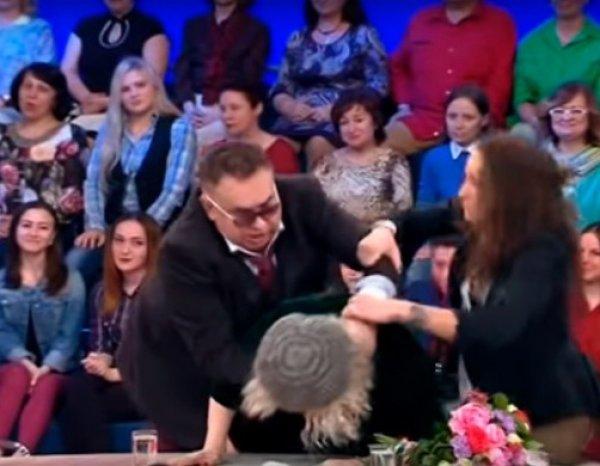 Драку Садальского и Васильевой на шоу Малахова осудили в Сети (ВИДЕО)