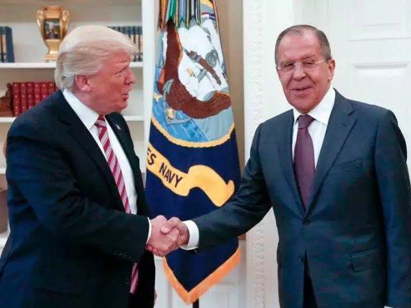 """""""Очень, очень хорошая встреча"""": Лавров в Вашингтоне провел переговоры с Трампом и Тиллерсоном (ФОТО, ВИДЕО)"""