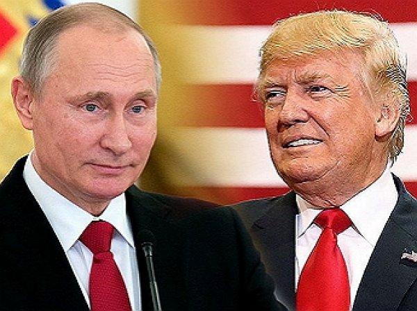 Путин обсудил с Трампом по телефону ситуацию в Сирии и на Корейском полуострове