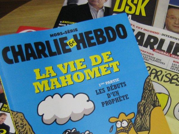 Charlie Hebdo опубликовал карикатуры на Кадырова и геев в Чечне (ФОТО)