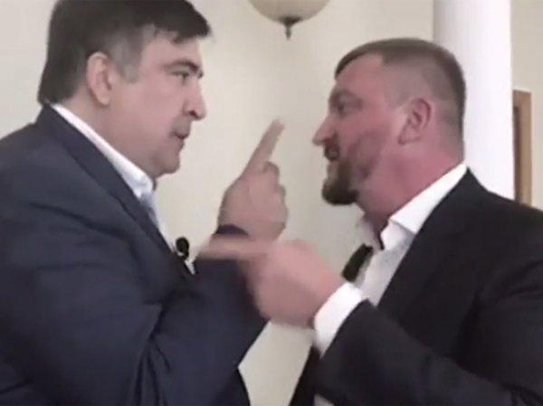 """""""Я страну построил, мерзавец!"""": Саакашвили устроил истерику в Минюсте Украины (ВИДЕО)"""