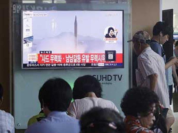 США: баллистическая ракета КНДР упала рядом с Россией