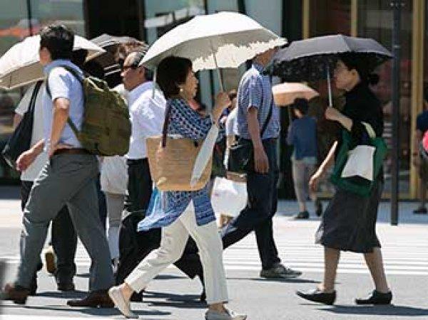 Аномальная жара в Японии: 700 человек попали в больницу, есть жертвы