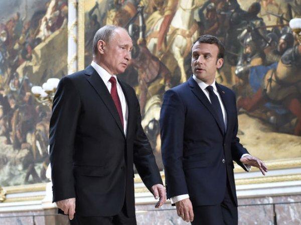 Политолог объяснил, зачем Макрон пытался хамить Путину (ВИДЕО)
