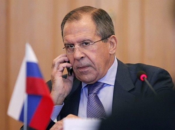 Лавров провел телефонный разговор с главой МИД Катара