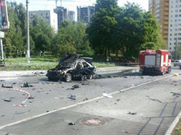 Взрыв в Киеве 27 июня 2017 попал на ВИДЕО