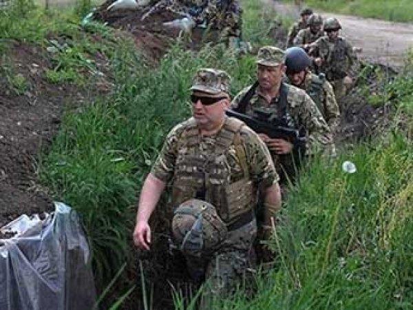 Турчинов на Донбассе неудачно пошутил о взятии Москвы