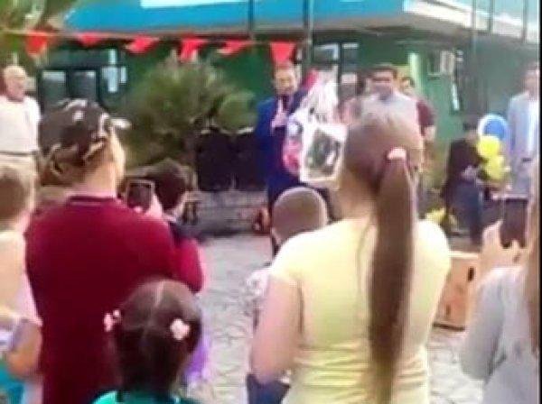 Поведение мэра Сочи на детском празднике возмутило жителей (ВИДЕО)