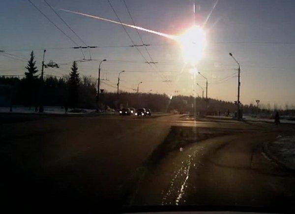 NASA выложило на YouTube ВИДЕО, как разрушался Челябинский метеорит