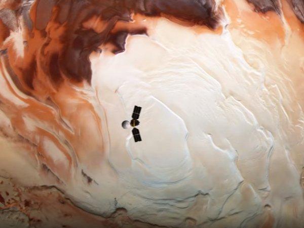 """NASA выложило на YouTube ВИДЕО """"живого"""" Марса"""