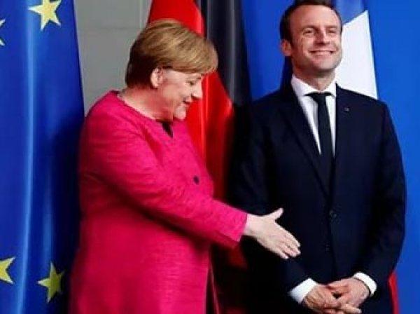 Меркель и Макрон склонили ЕС к продлению санкций против РФ на полгода