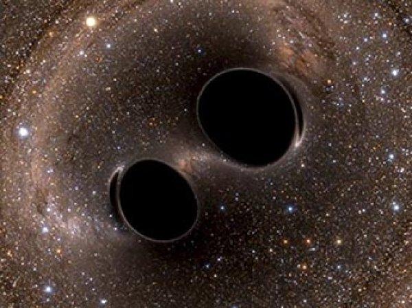 Ученые впервые нашли две черные дыры, которые вращаются вокруг друг друга