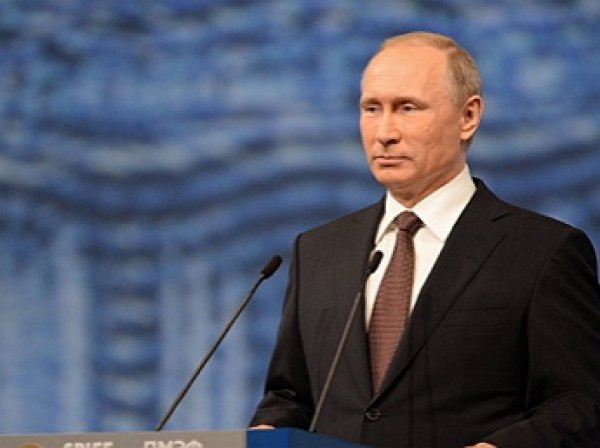Путин подшутил над американской ведущей на ПМЭФ