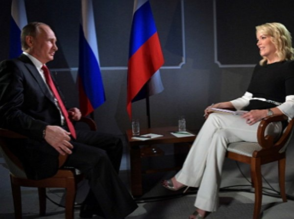 "СМИ: Путин ""переиграл"" американскую журналистку Мегин Келли"
