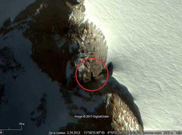 Россиянин нашел в Антарктиде вход в подземелье нацистов (ВИДЕО)