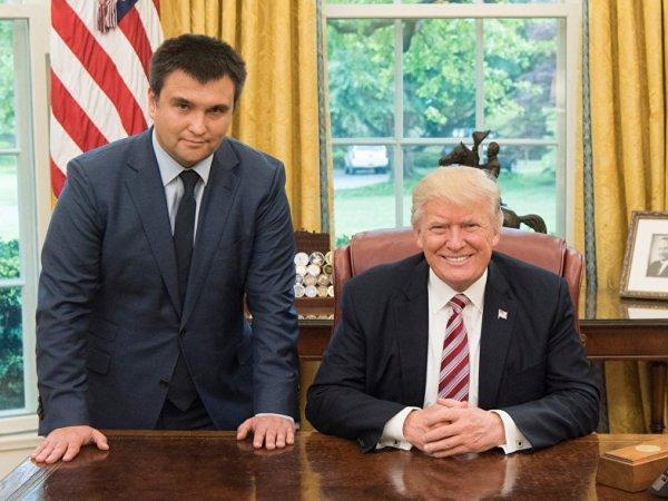 Глава МИД Украины подтвердил грядущую встречу Трампа и Порошенко