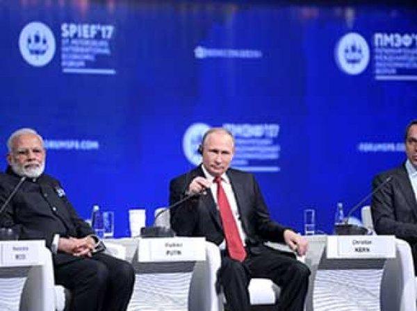 """""""Экономика вступает в новую фазу: Путин на ПМЭФ рассказал о будущем России и НАТО"""