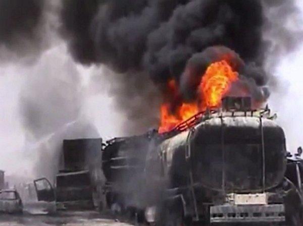 Жертвами возгорания бензовоза в Пакистане стали не менее 140 человек