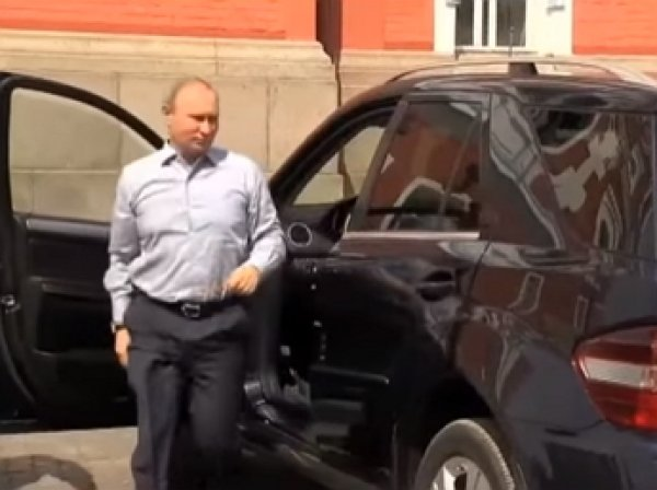 Путин прибыл на Валаам с неизвестным пассажиром