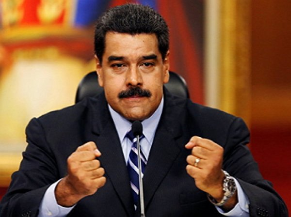 США ввели санкции против президента Венесуэлы Николаса Мадуро