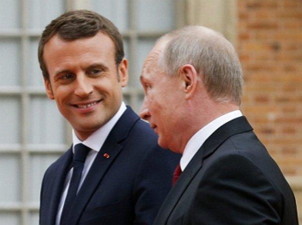 """""""Эммануэль, привет!"""": Макрон опубликовал видео с приветствием Путина"""