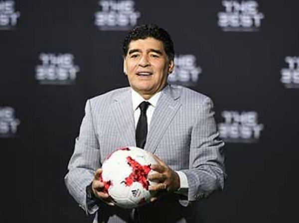 Марадона захотел стать гражданином России и возглавить сборную РФ