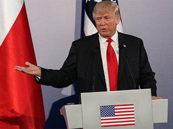 """Трамп заявил о """"дестабилизирующем поведении России"""""""